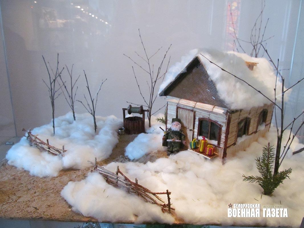 Зимние своими руками домик 615