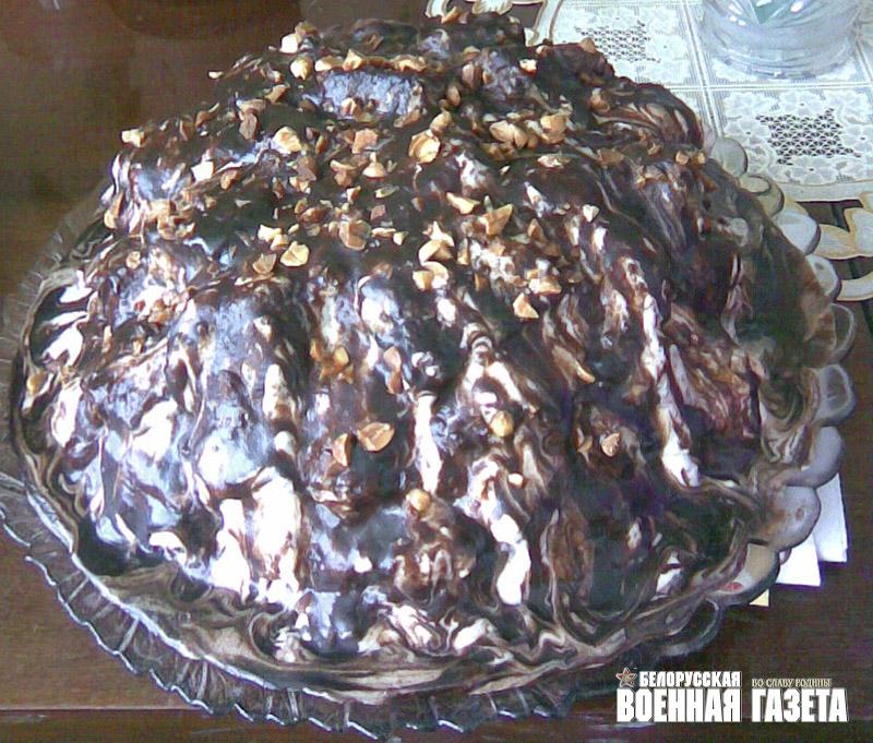 торт графские развалины фото-рецепты