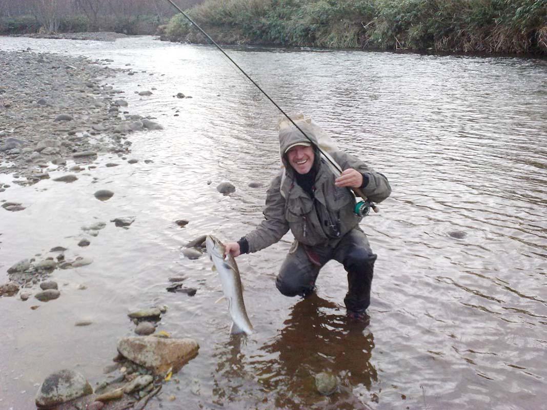 рыбалка на острове итуруп