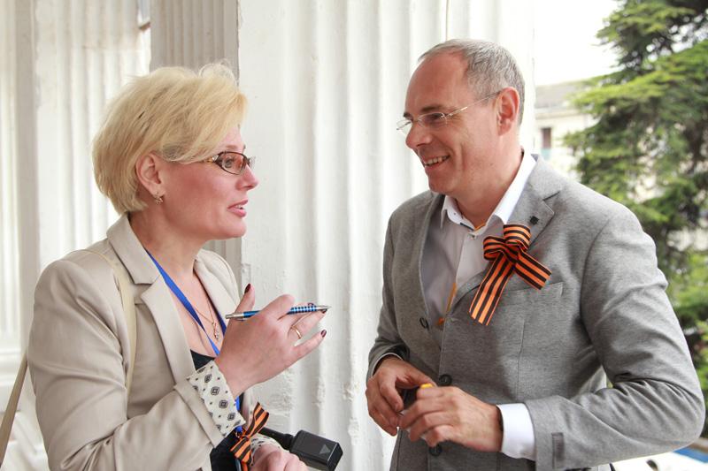 Общение с профессионалами экстра-класса — один из главных плюсов подобных форумов. Во время беседы с Игорем Прокопенко