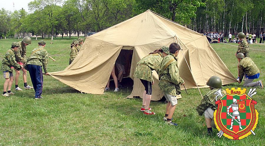 Школьники с пользой проведут летние каникулы в спортивно-патриотических лагерях