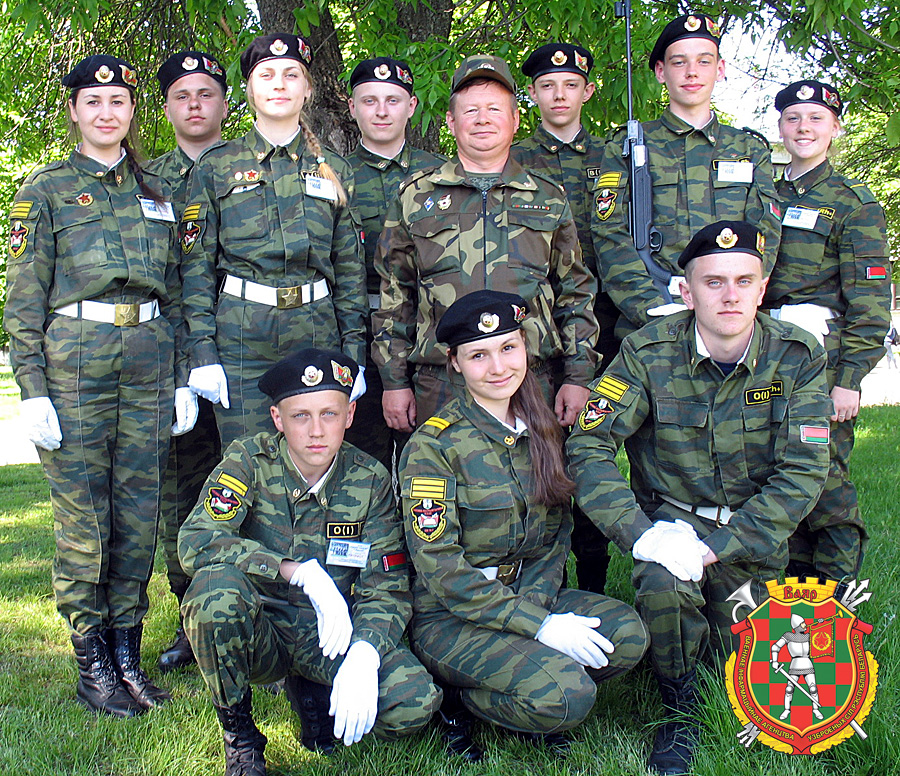 Победитель военно-патриотической игры «Защитник Отечества» команда средней школы №7
