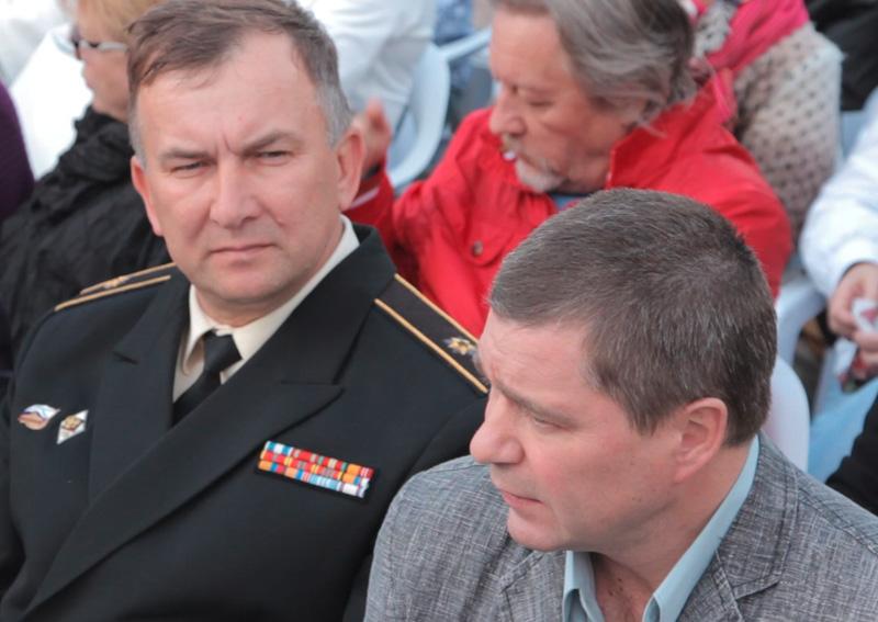 Заместитель командующего Черноморским флотом контр-адмирал