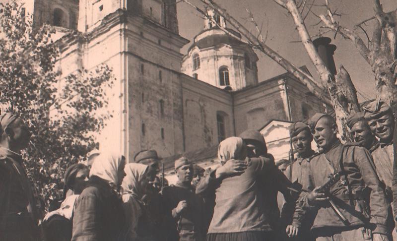 Встреча воинов‑освободителей в Полоцке