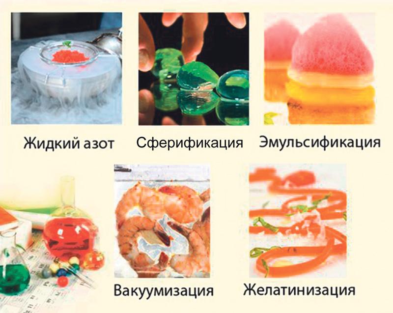 Все рецепты молекулярной кухни в домашних условиях