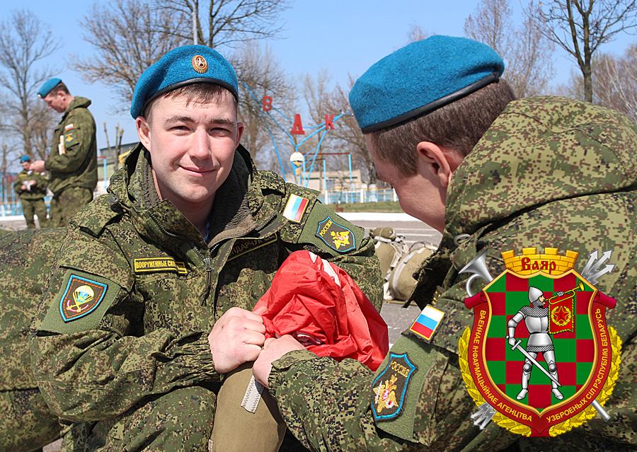 Российские десантники в Бресте ведут подготовку к прыжкам