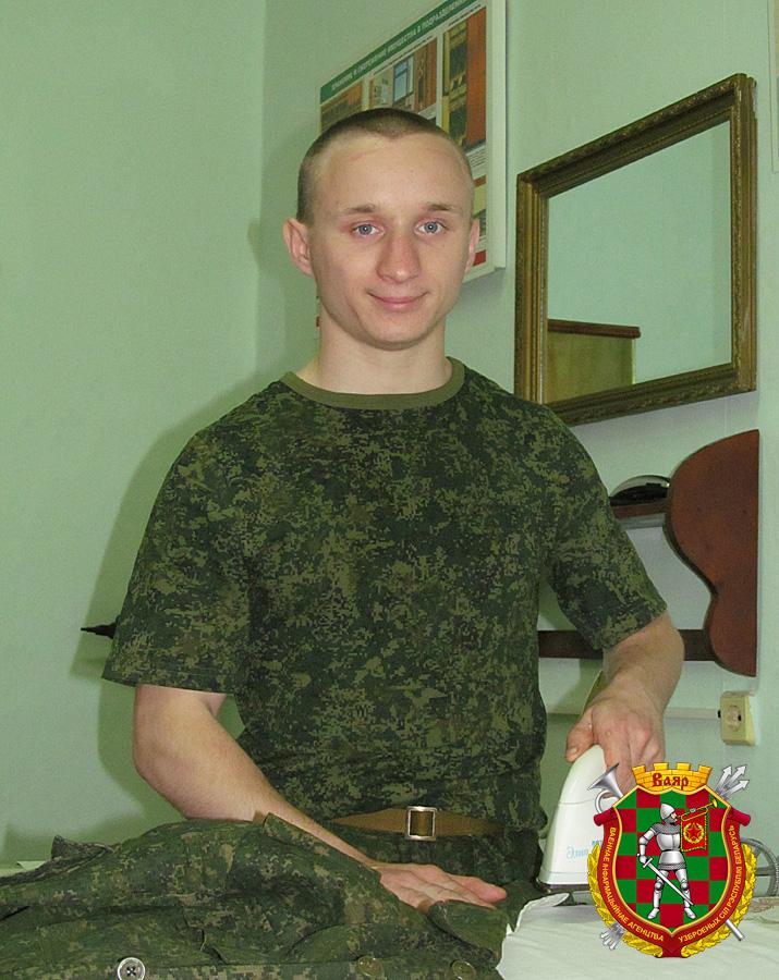 Рядовой Алексей Грецкий