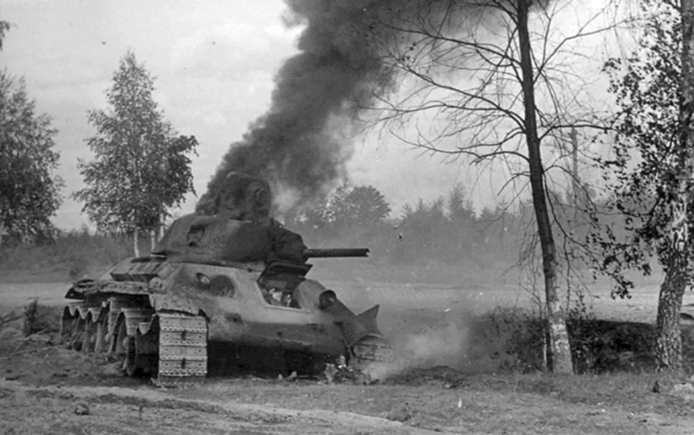Подбитые танки (7).