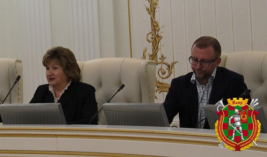 Лилия Ананич и один из продюсеров видеоролика Валерий Кравчук