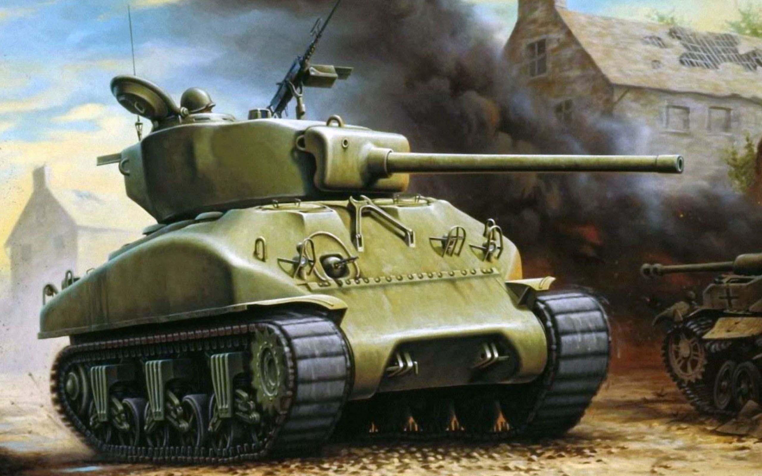 Танк «Шерман» М4, поставлявшийся в СССР по ленд-лизу