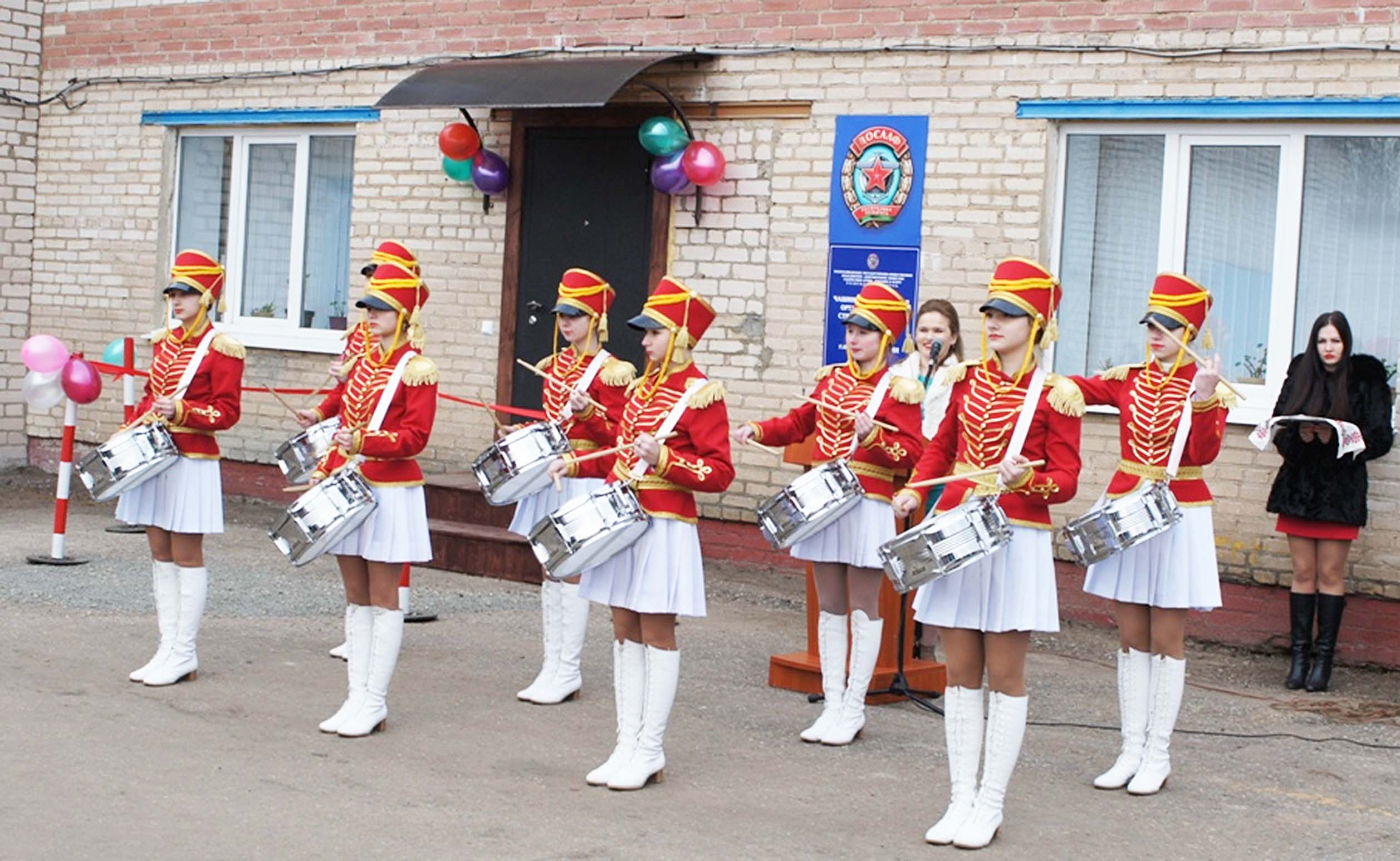 Новоселье автошколы в Бешенковичах стало торжественным событием