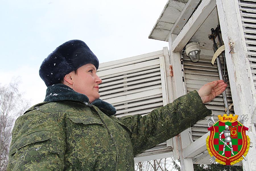 Ефрейтор контрактной службы Оксана Перхунова