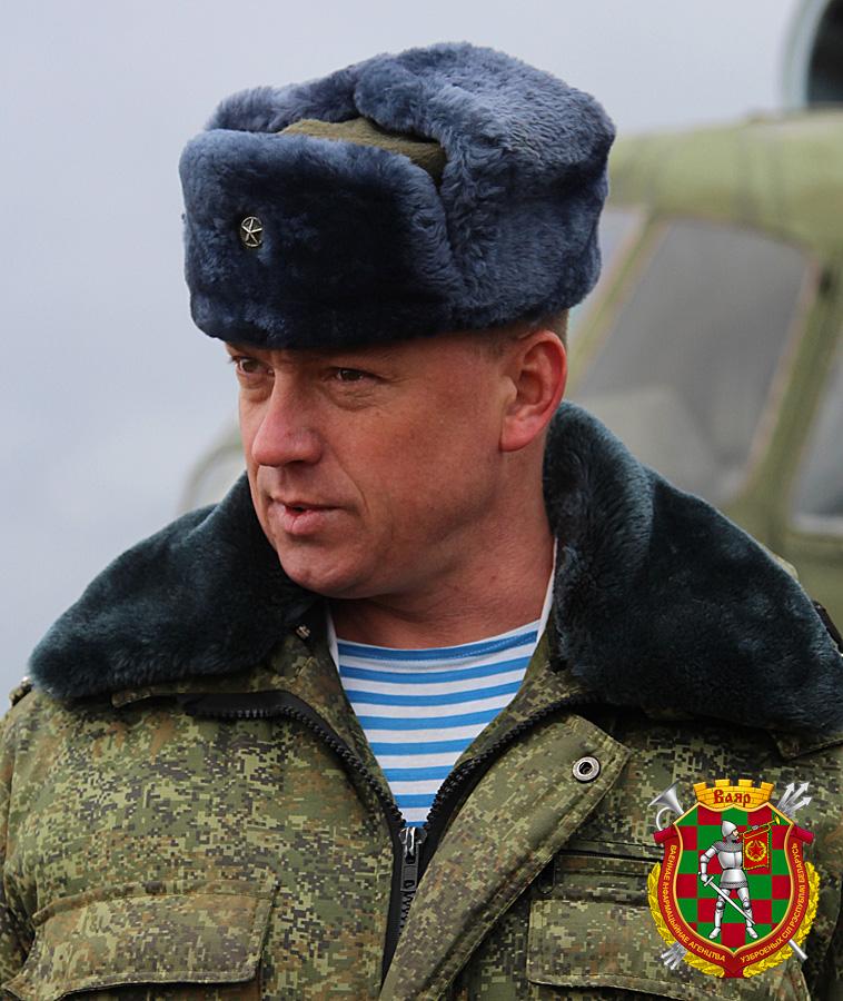 Гвардии полковник Дмитрий Соболь