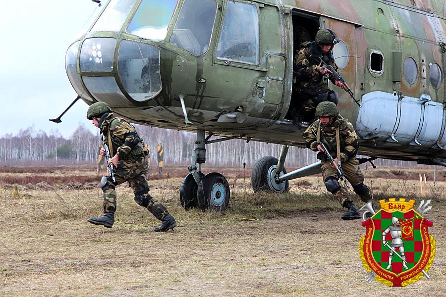 Во время наиболее зрелищного этапа РТУ гвардейцы действовали двумя небольшими группами