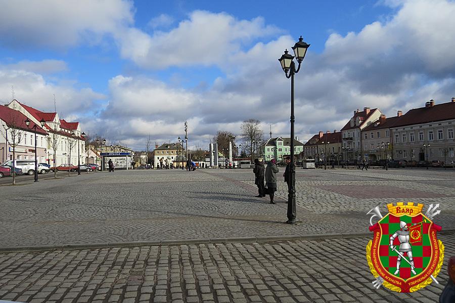 Центральная площадь современного Гвардейска