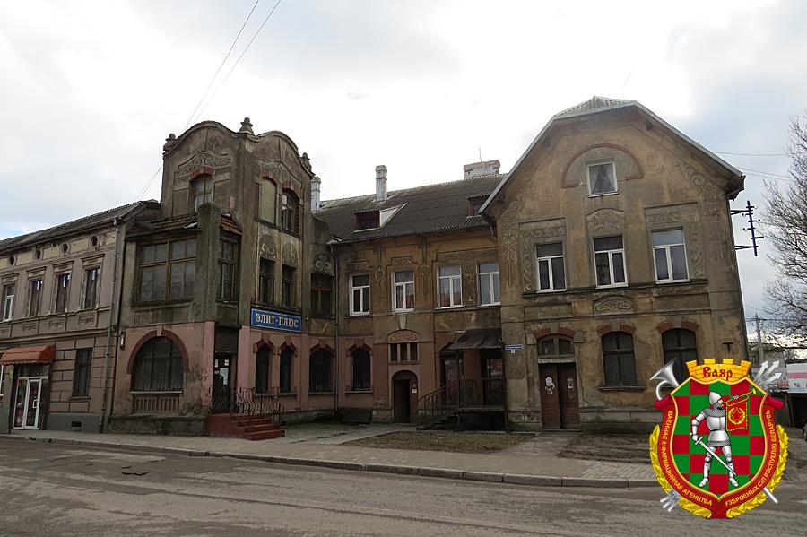 Многие здания в Гвардейске сохранили свой довоенный вид