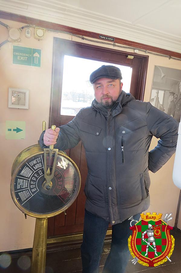 Заместитель генерального директора Музея Мирового океана по развитию  капитан 2 ранга запаса Алексей Буданов