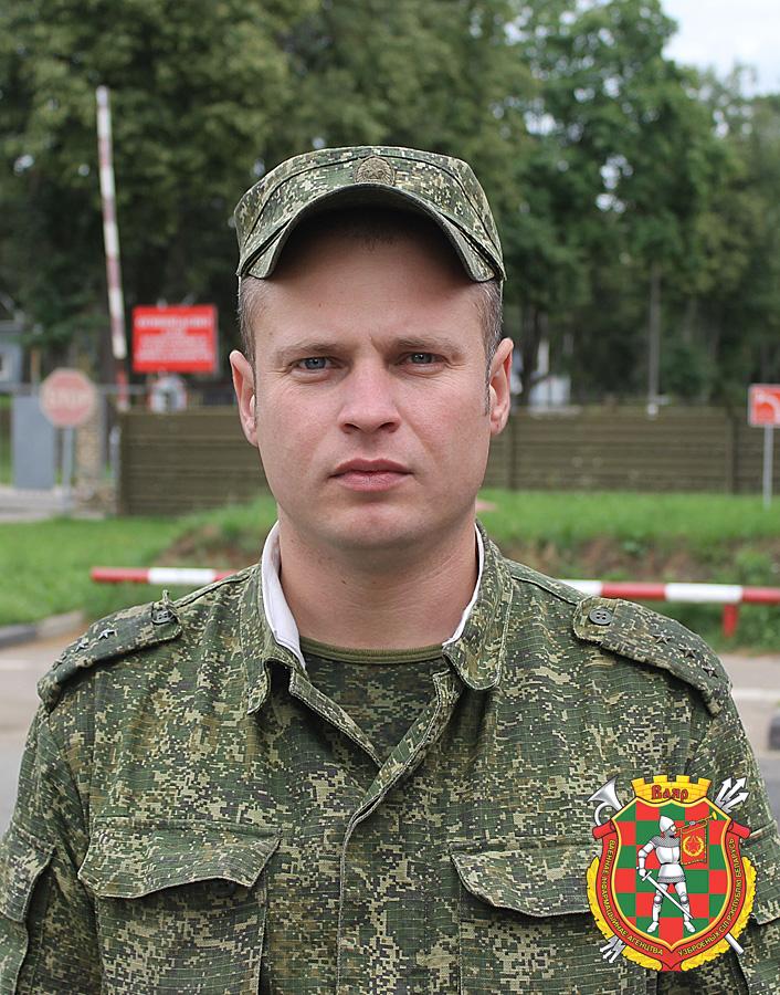 Старший прапорщик Дмитрий Бушляков