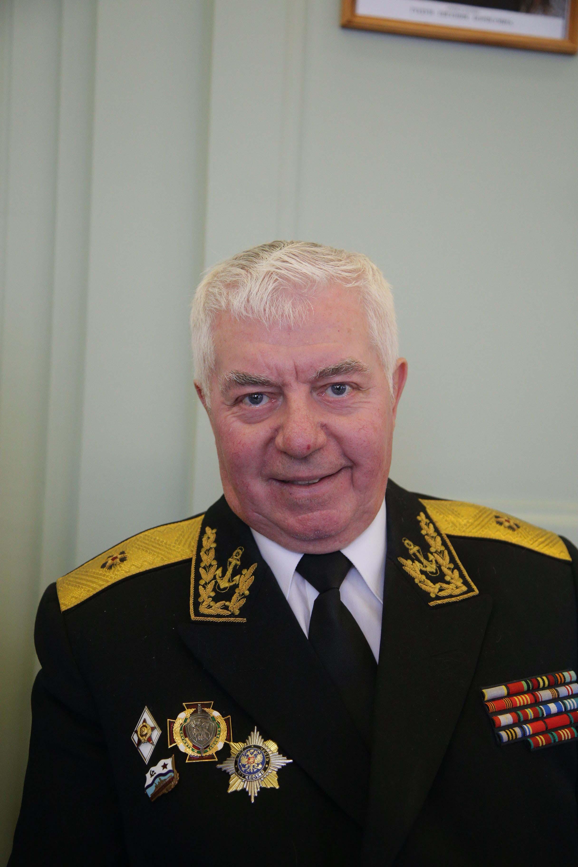 Контр-адмирал в отставке Зигмунд Жабко