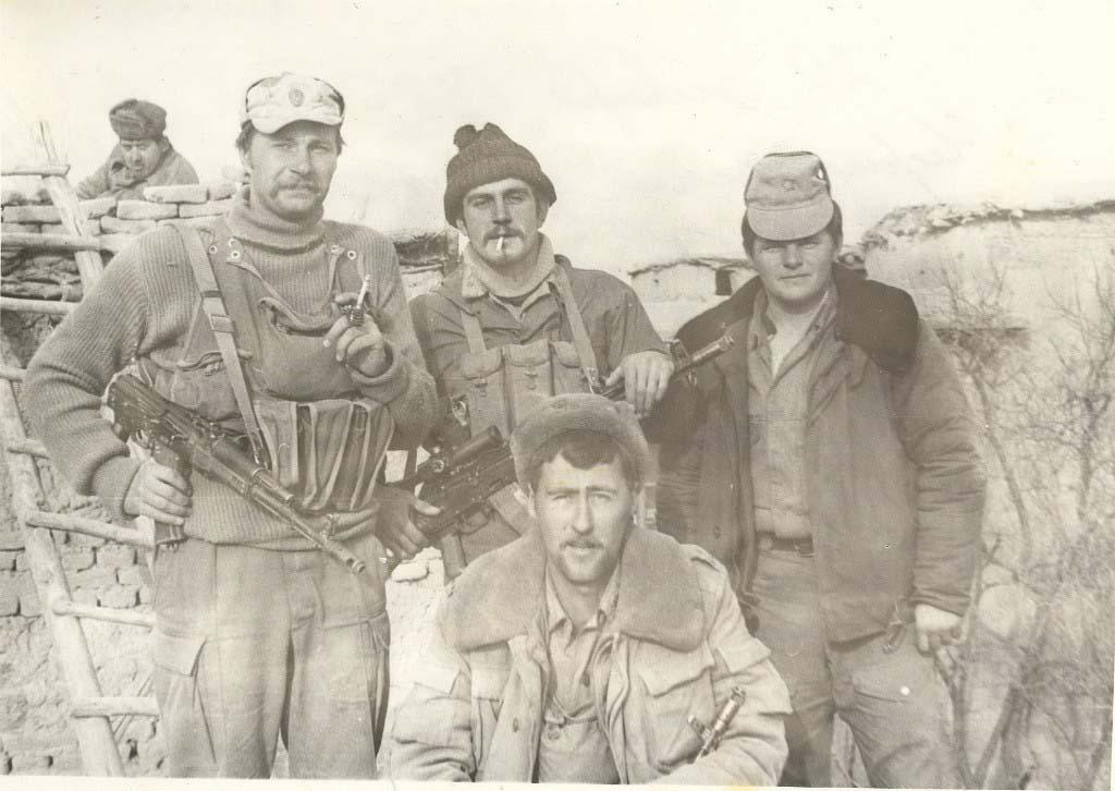 Баграм. 271 оисб. 1986 год