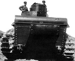 Т-24 во время испытаний