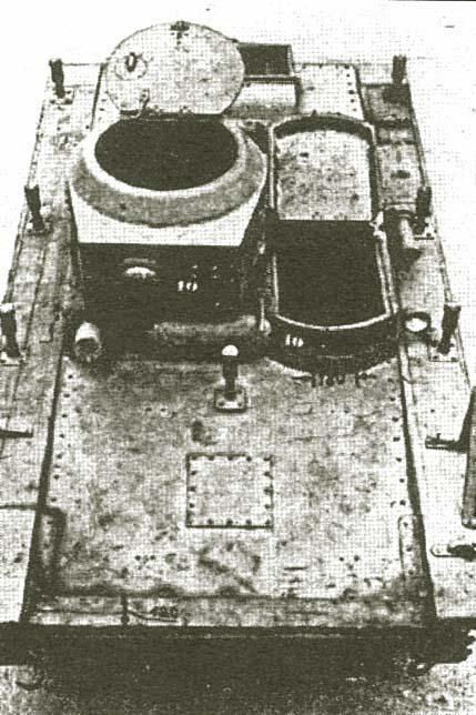 редкий снимок вид Т-37 сверху