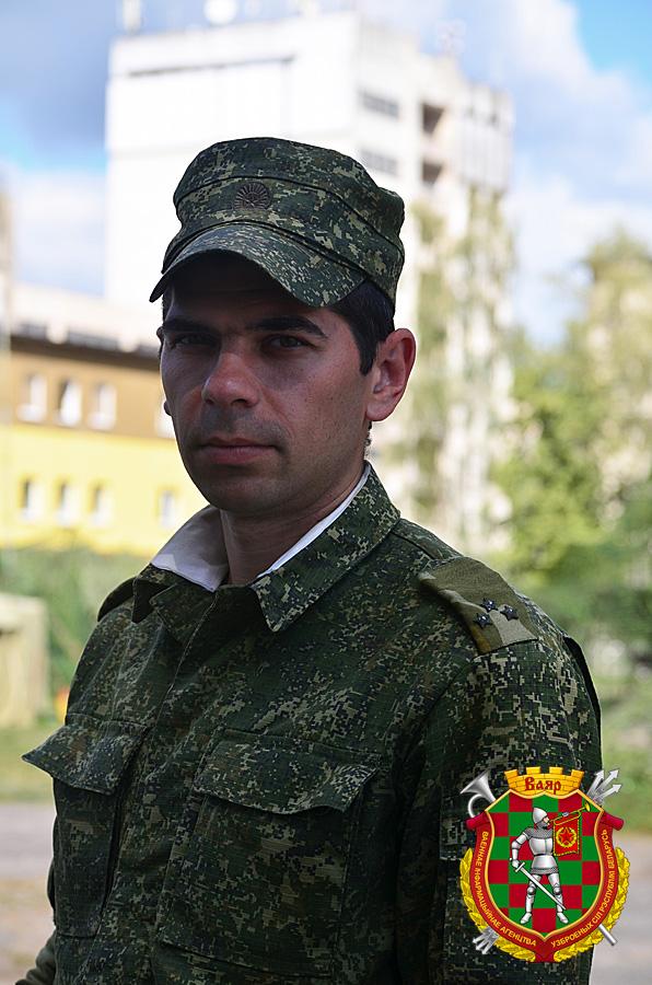 Старший лейтенант Алексей Куцук