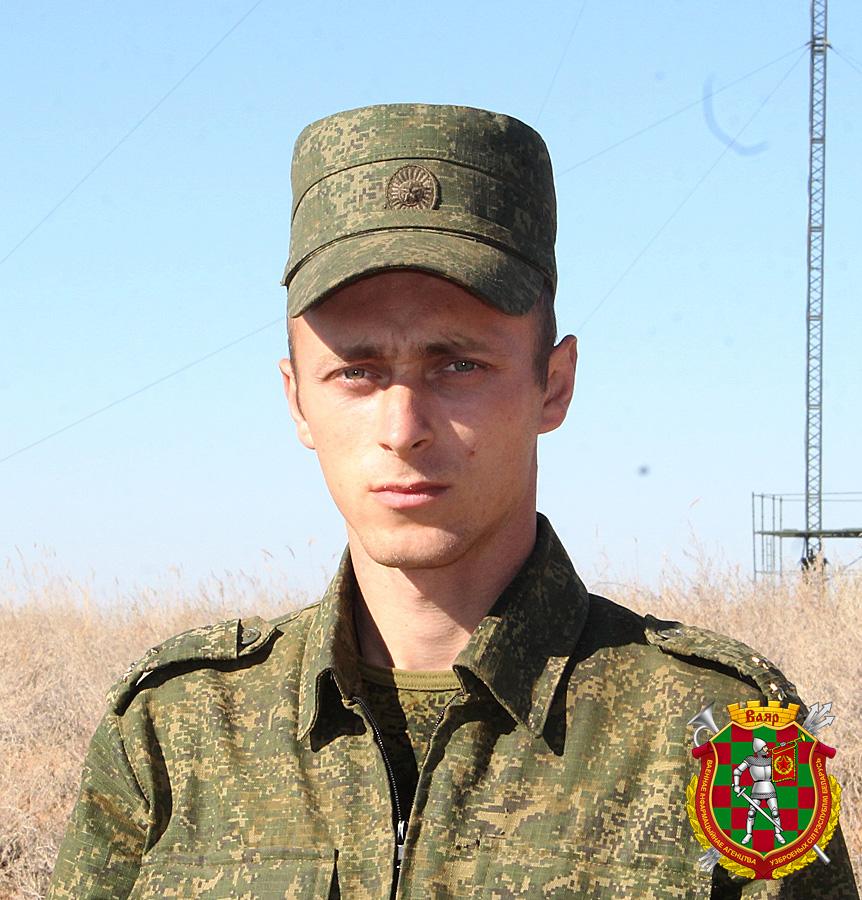 Старший лейтенант Валерий Тадеев