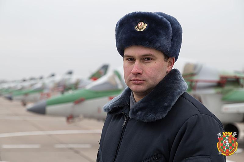 Гвардии майор Андрей Ничипорчик