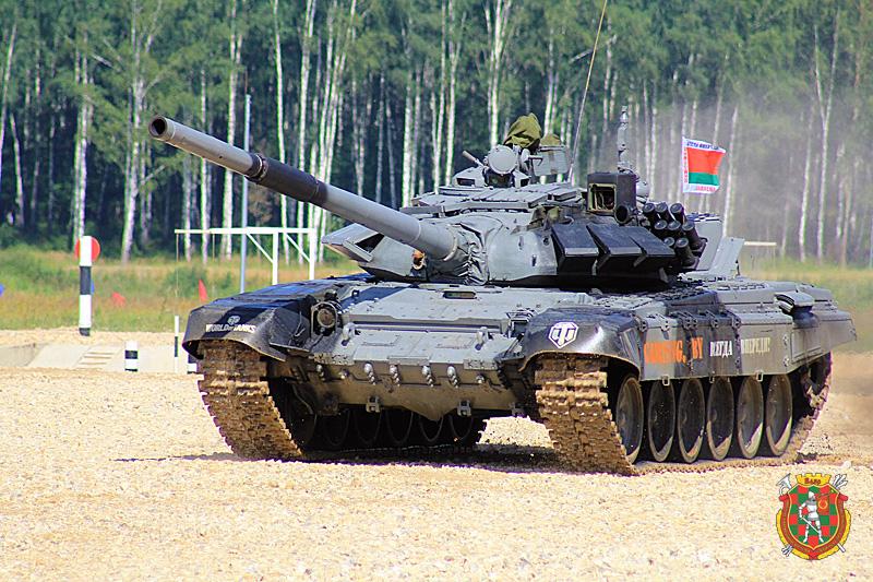 Танк Т-72БМ-1 печинского экипажа