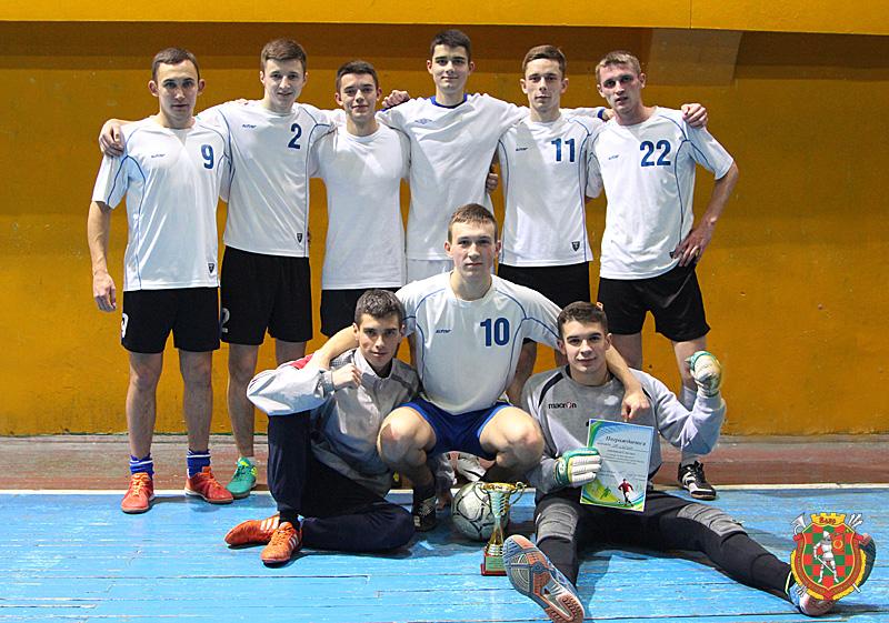 Команда-победитель — сборная военного факультета в БГУИР
