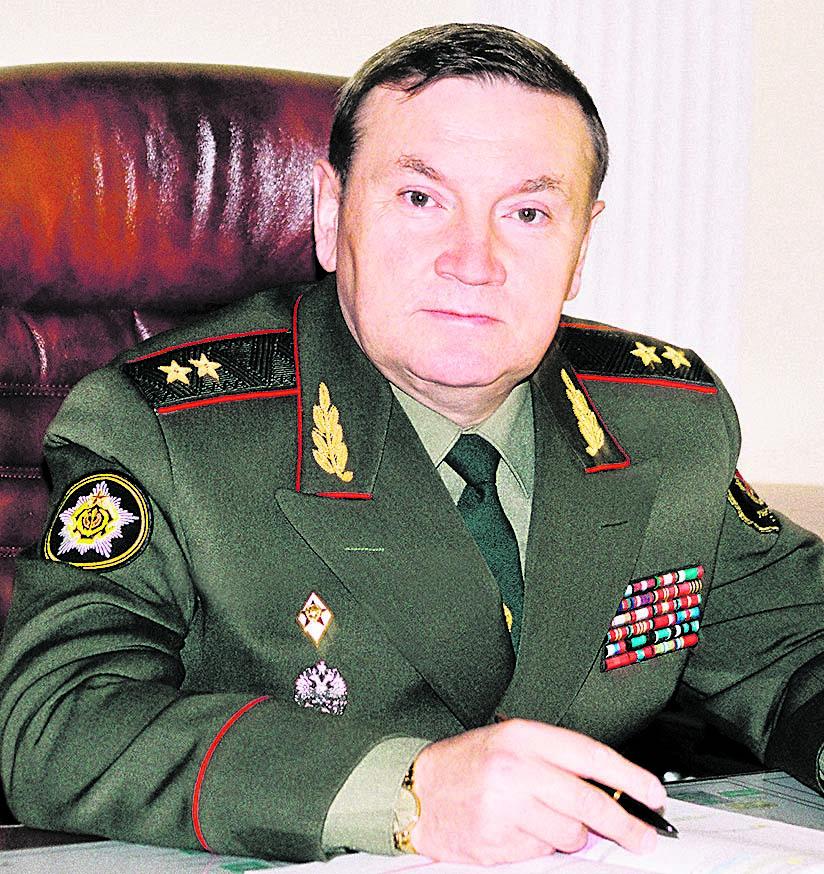 Генерал-лейтенант С.П. Гурулев
