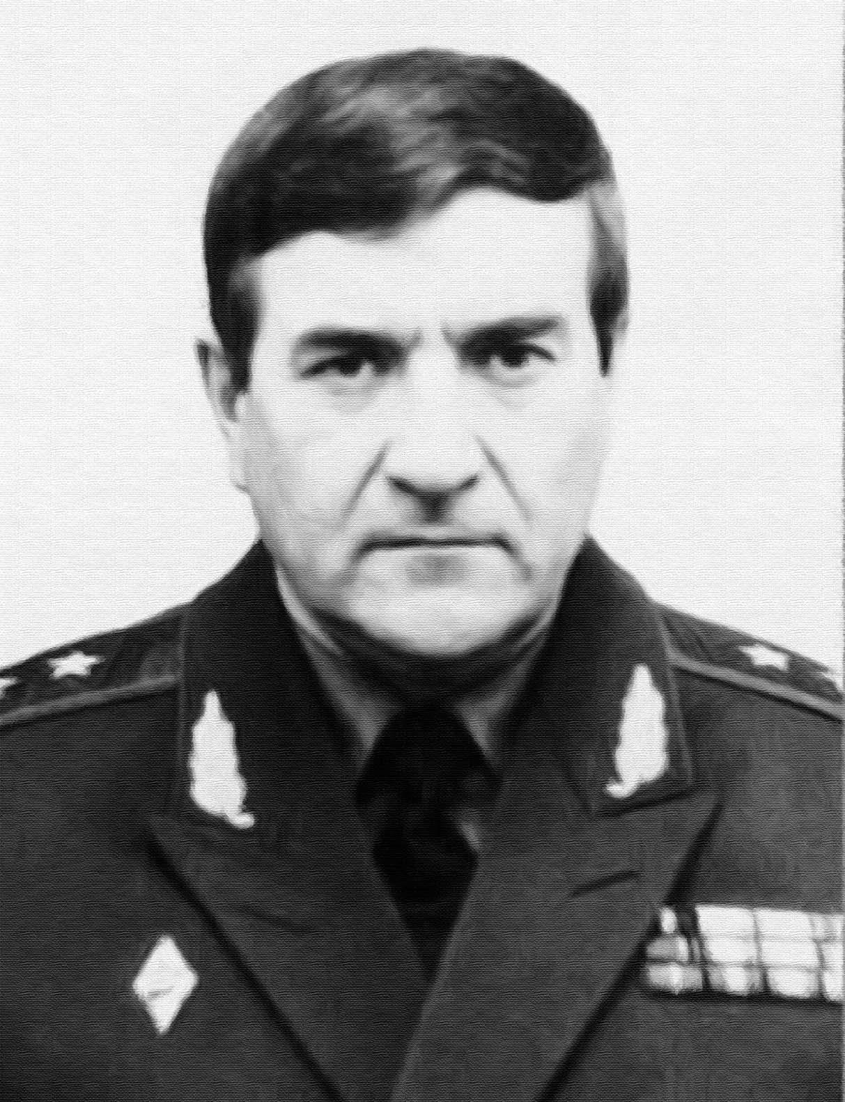Генерал-лейтенант М.Ф. Козлов