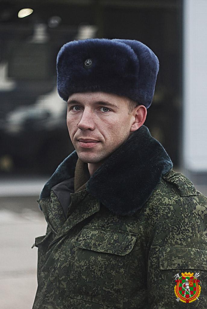 Лейтенант Дмитрий Максимчик