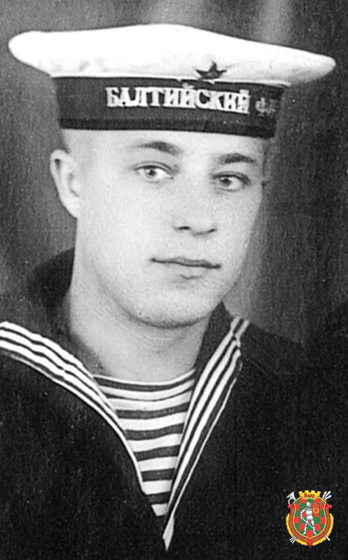 Матрос Михаил Санюкевич. Фото сделано во время службы в Кронштадте