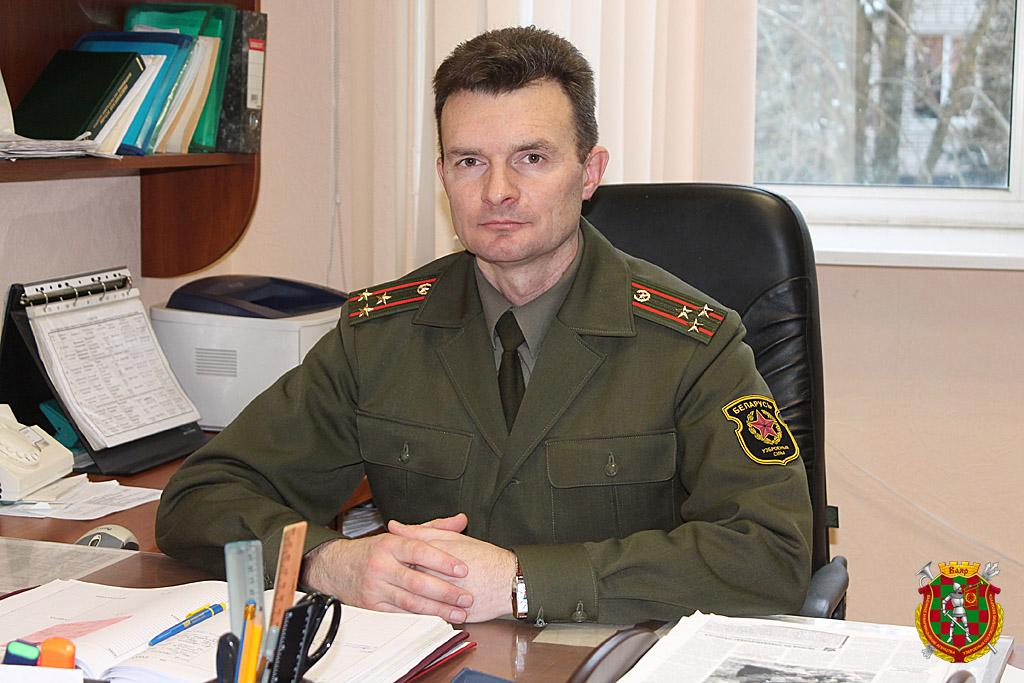 Полковник Сергей Воронович