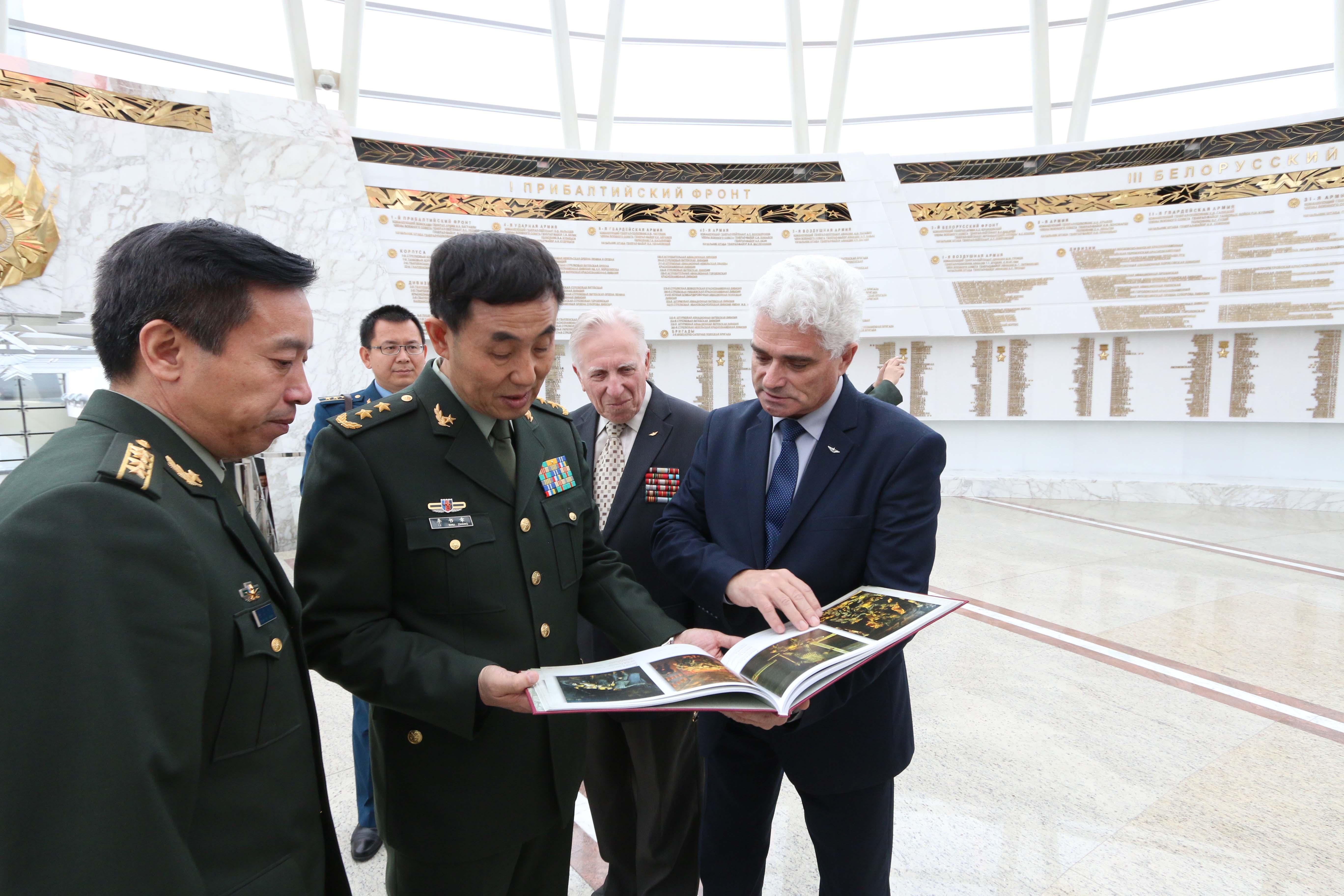 Встреча иностранной делегации в музее
