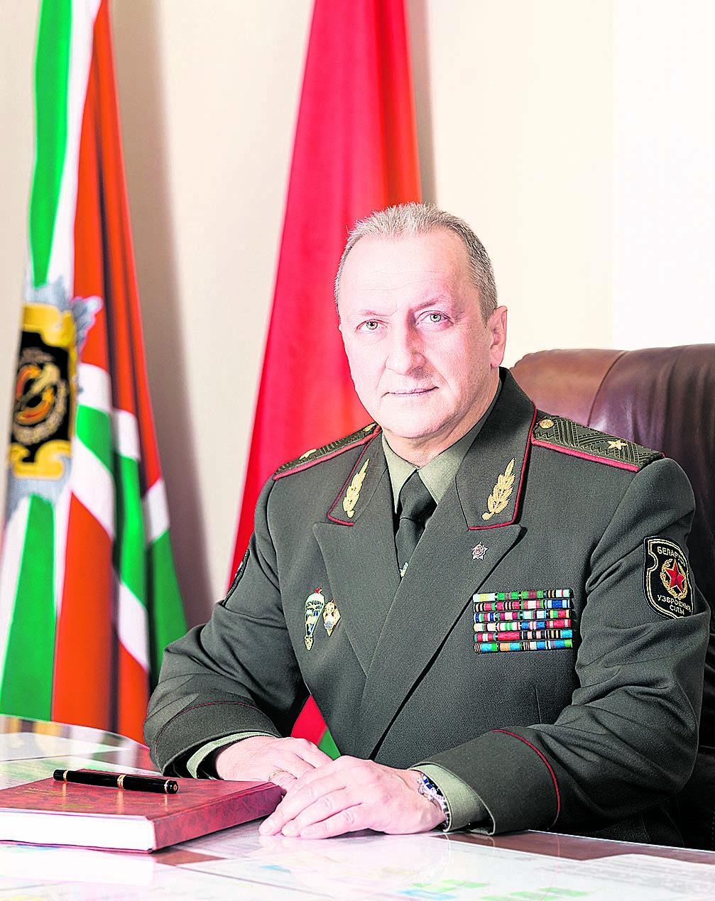 Начальник Генерального штаба Вооруженных Сил—первый заместитель министра обороны Республики Беларусь генерал-майор О.А.Белоконев