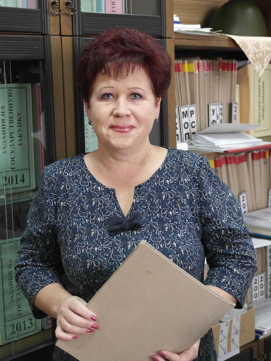 Начальник лаборатории Татьяна Лях