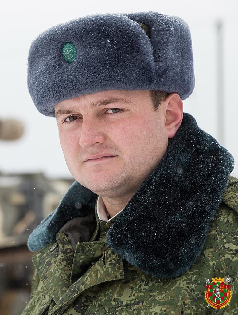 Гвардии капитан Денис Лубенько