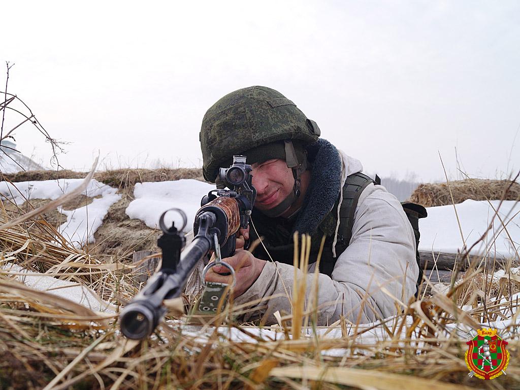 Снайпер гв.ряд. Станислав Пучко