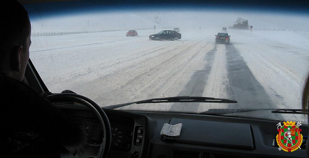 зима-дорога