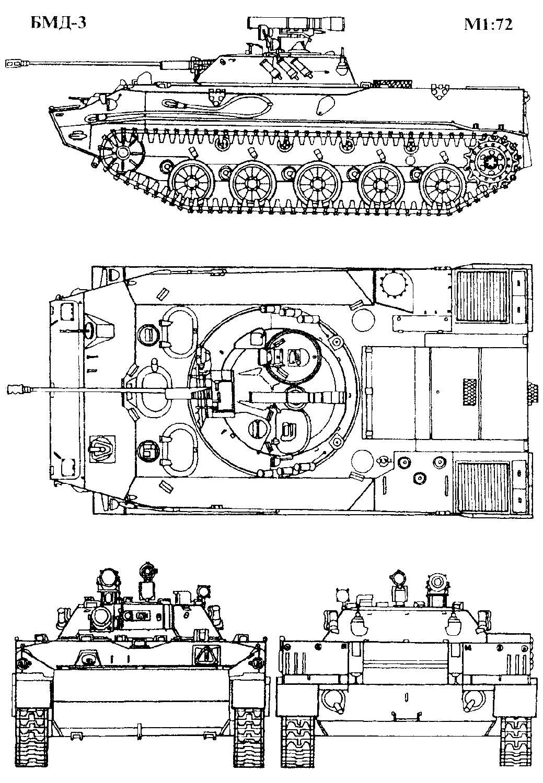 компоновка БМД-3