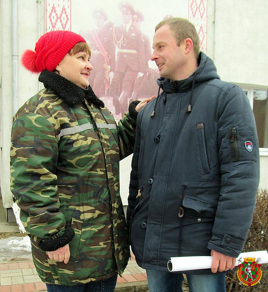Рядовой запаса Олег Маликов иего мама Татьяна Владимировна