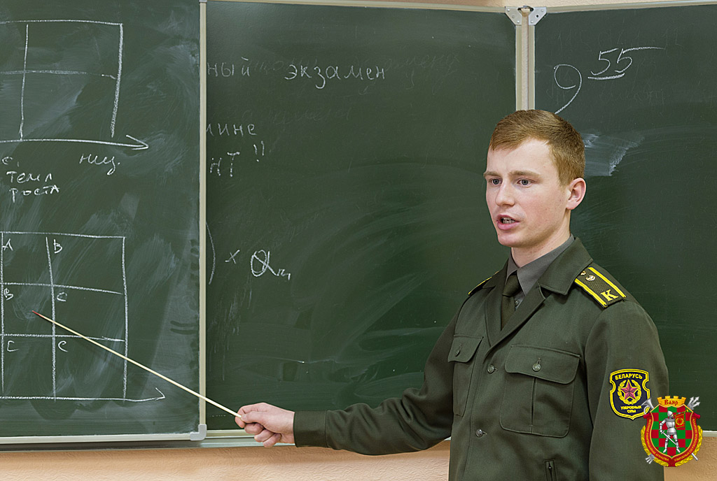 Курсант Игорь Орехво