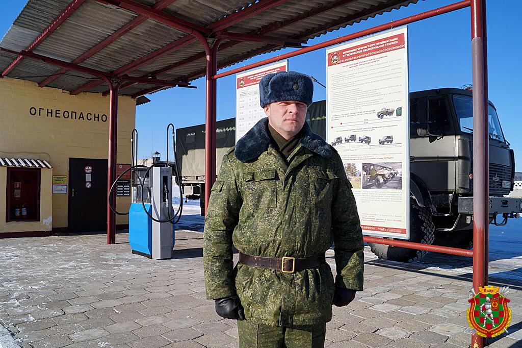 Старший прапорщик Станислав Долговский (2)