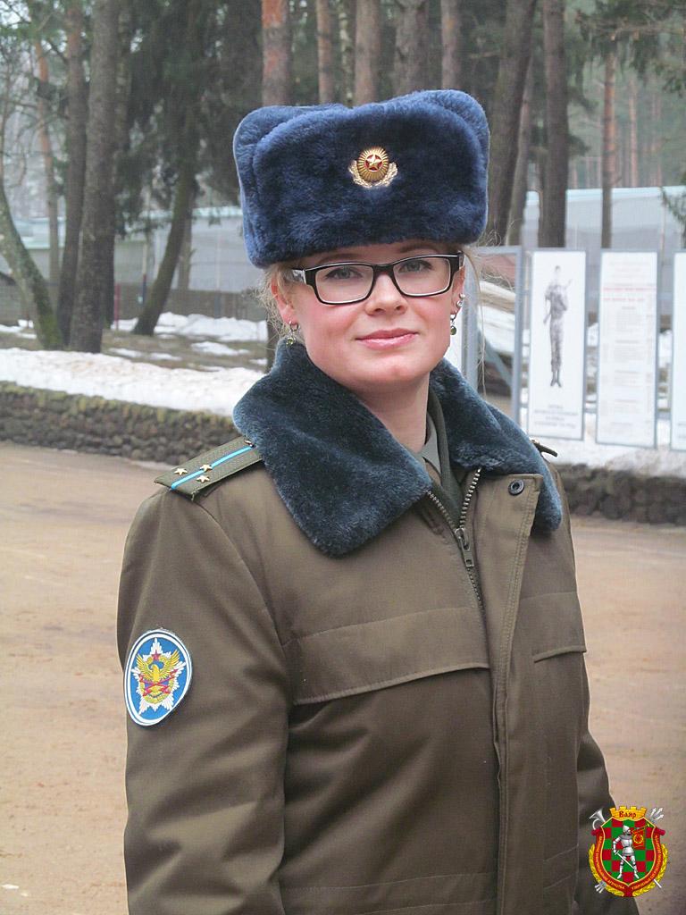 старший лейтенант Александра Былина