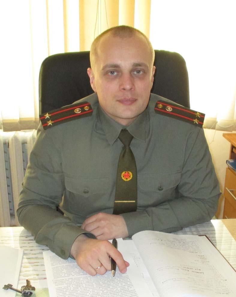 Подполковник Максим Журавлёв