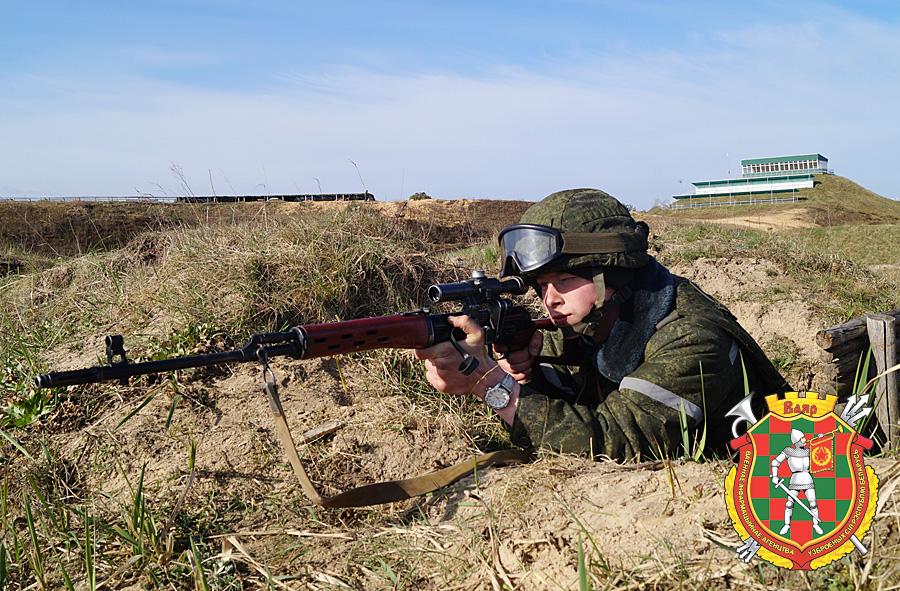 Снайпер гвардии рядовой Андрей Малохвей (2)
