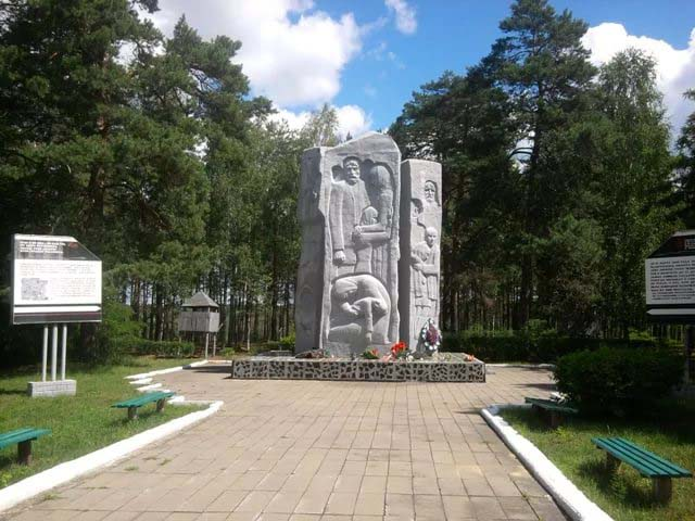 Мемориальный комплекс на месте бывшего концлагеря